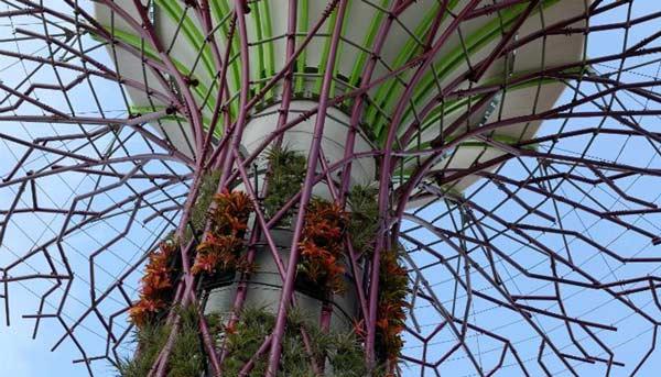 Conoce los árboles artificiales generadores de electricidad