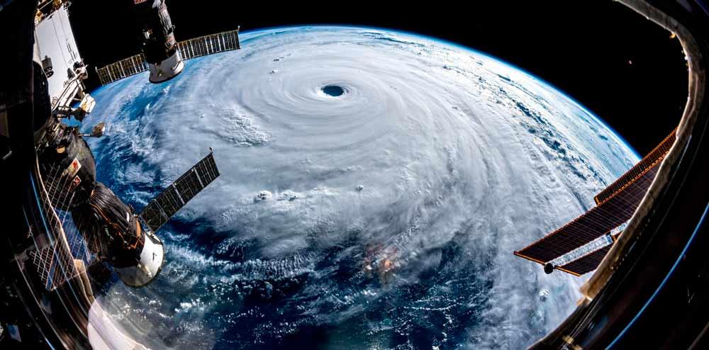 Aerogeneradores que funcionan en medio de tifones asiáticos
