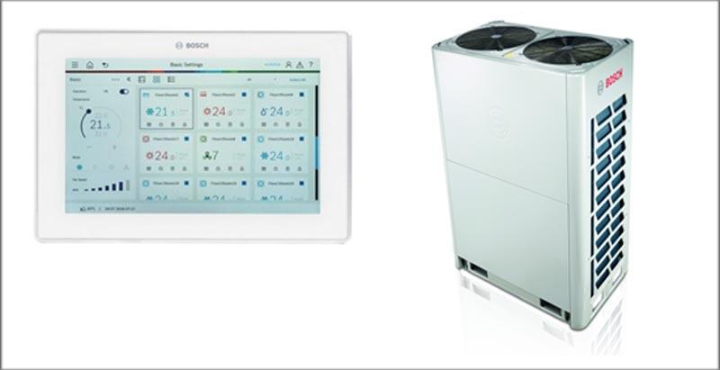 AirFlux, la nueva serie VRF de Bosch para proyectos de mediano y gran tamaño