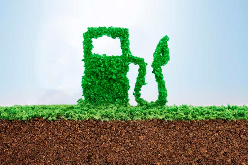 Residuos industriales purifican biogás a biometano