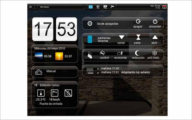 Controla desde tu Tablet los dispositivos inteligentes de tu casa