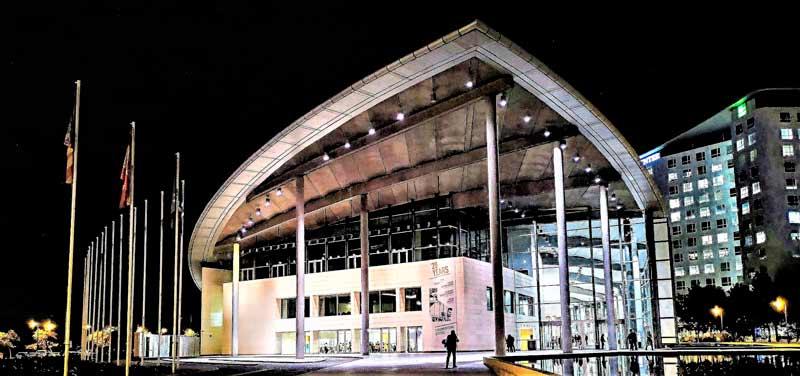 Inicia el control automatizado de luminarias en el Palacio de Congreso de Valencia