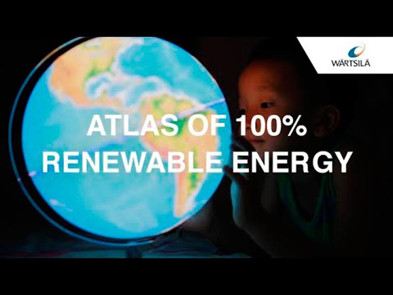 Atlas interactivo de la energía: el potencial de renovables