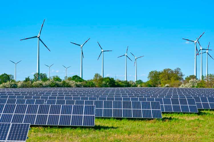 Aumento de producción de energías renovables en España durante el 2020