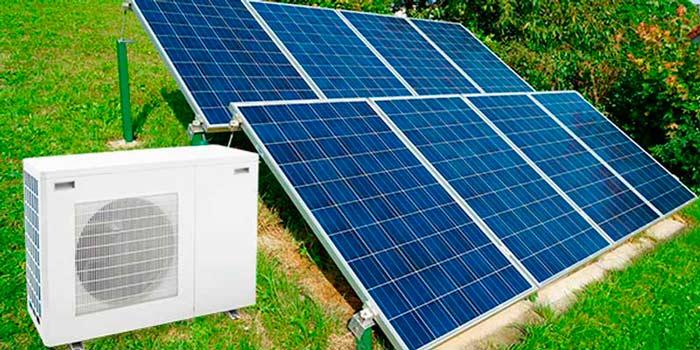 Aerotermia y fotovoltaica para el sector residencial